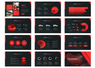 Thumbnail for Cartrea | Powerpoint Template