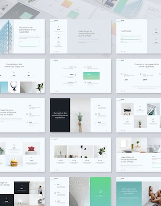 Thumbnail for Selected - Minimal & Business Template (PPT)