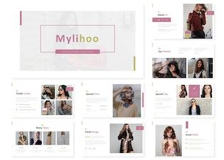 Миниатюра для Mylihoo | Powerpoint, Keynote ки, Googleslide