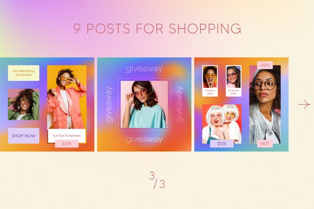 Fashion Instagram Posts - product preview 3
