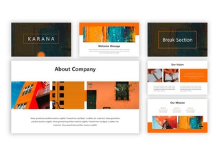 Thumbnail for Karana - Google Slides Template