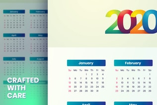 Thumbnail for Simple Calendar 2020