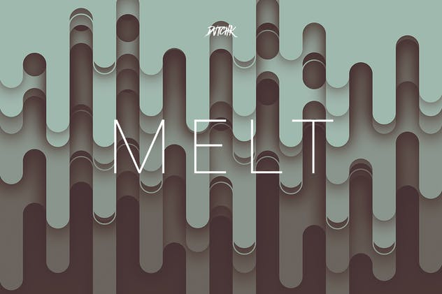 Melt | Abstract Rounded Backgrounds | Vol. 04 - product preview 3