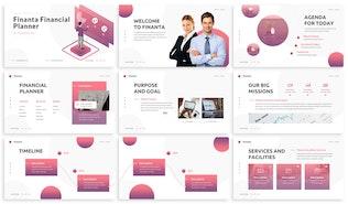 Thumbnail for Finanta - Financial Planner Keynote Template
