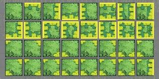 Jungle Ruins Pixel Game Tiles