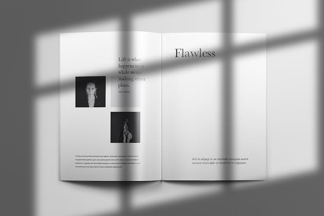Yeager - Brochure Template Indesign - product preview 6