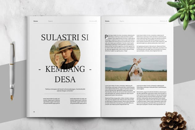 MATAMU - Clean and Minimalist Magazine Template - product preview 8