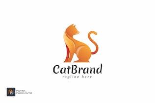 Cat Brand - Logo Template