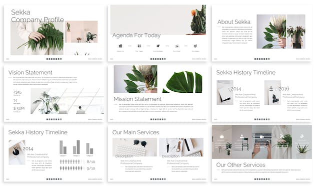 Sekka - Business Keynote Template - product preview 2