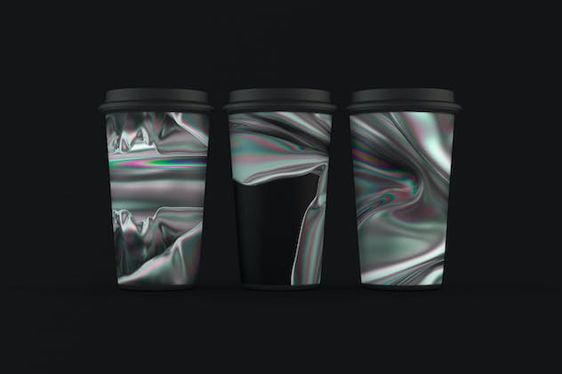 Iridescent Abstract Backgrounds - product preview 3