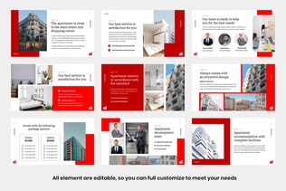 Thumbnail for BRENZ - Business Apartment Presentation Keynote