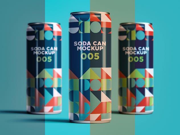 Soda Can Mockup 005