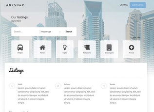 Thumbnail for Directory ultimate PRO WordPress - Table, Grid