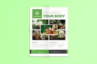 Minimal Beauty & Spa Flyer