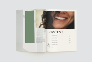 Thumbnail for Green Catalog Brochure