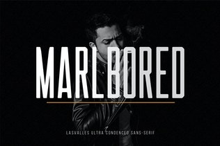 Thumbnail for Las Valles Ultra Condensed Typeface 4 Fonts