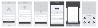 Thumbnail for Codama iOS Wireframe UI Kit