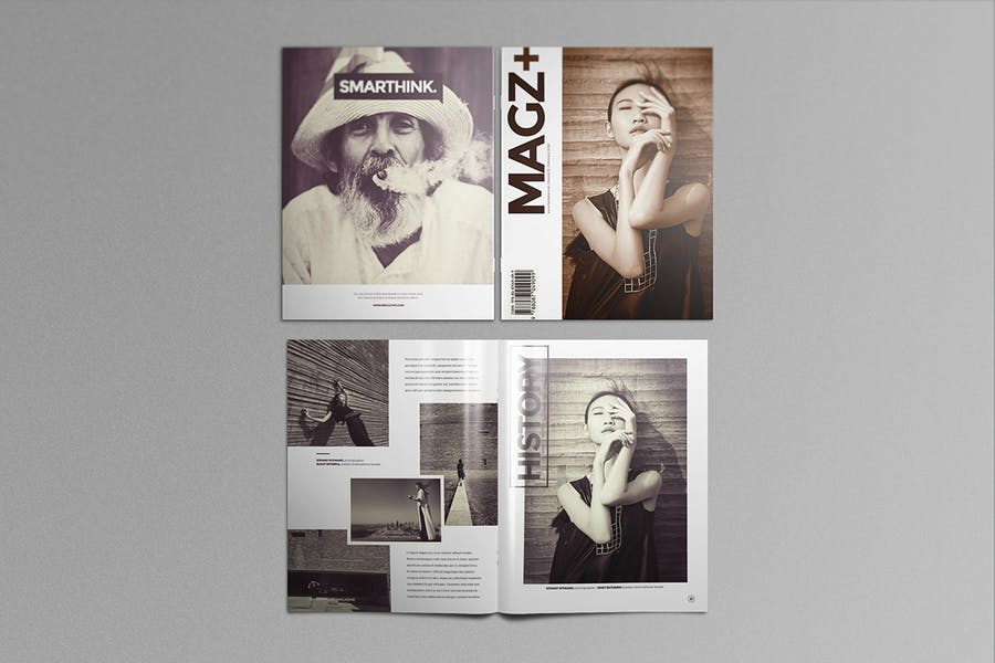 Preview image 8 for Буклет США Буклет Мокапы