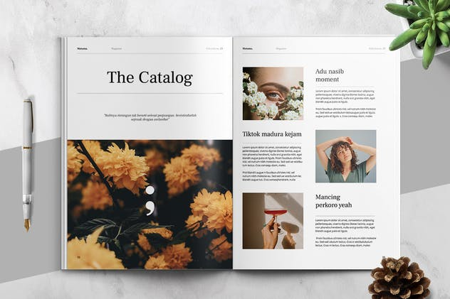 MATAMU - Clean and Minimalist Magazine Template - product preview 10
