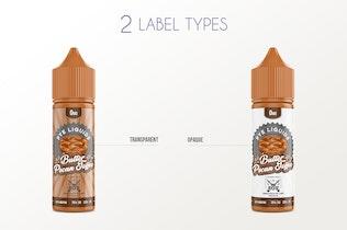 Thumbnail for eLiquid Bottle Mockup v. 50ml-C