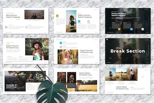 Saniel - Creative Powerpoint Template
