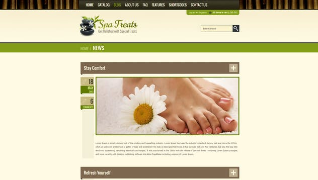 Spa Treats  - Yoga and salon Shopify Theme - product preview 9