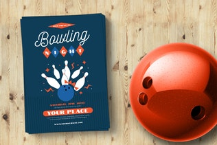 Thumbnail for Retro Bowling Night