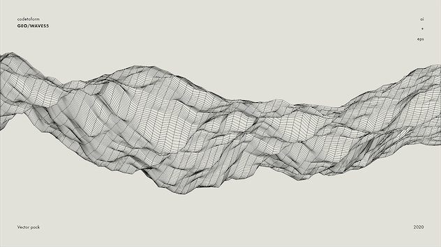 GEO_WAVES5 Vector Pack - product preview 14