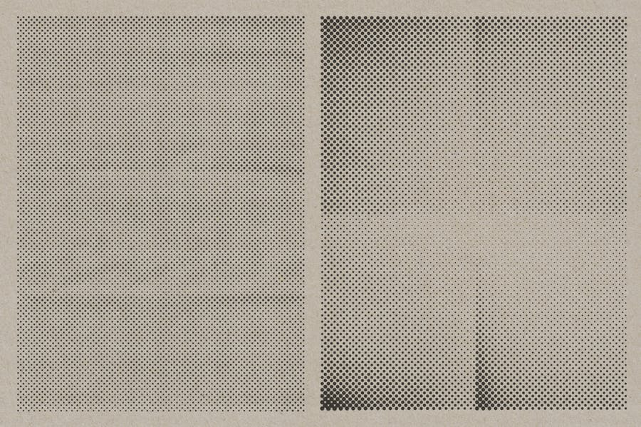 Halftone Vector Paper Textures - product preview 2