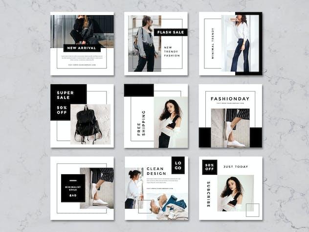 Rantautemp - Kimberley Minimal Social Media Post - product preview 2