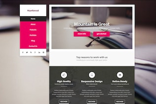 Thumbnail for Nunforest - Multipurpose Muse template