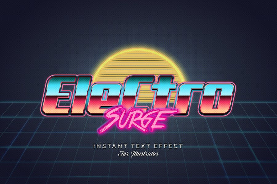 Neon Text Effects by designhatti on Envato Elements