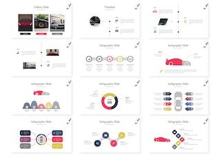 Autoz - Google Slides Template