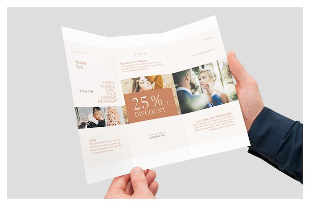 Photography Trifold Brochures - product preview 1