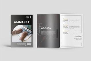 Thumbnail for Alamanda - Workbook Planner Template