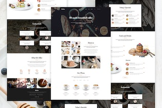Delice - Multi-Purpose Food & Restaurant Template