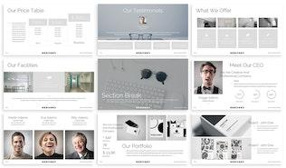 Thumbnail for Sekka - Business Google Slide Template