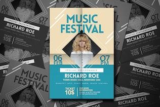 Thumbnail for Music Festival Flyer