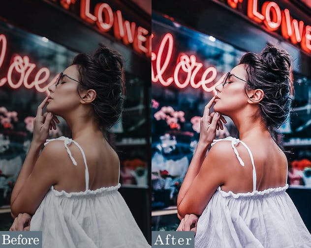HDR Fashion - Portrait Photoshop Actions