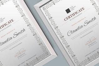Thumbnail für Zertifikat/DiplomVorlage Pro