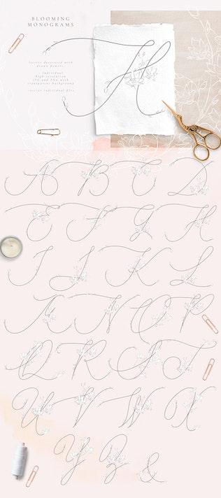 Thumbnail for Tender Feeling ~ Monograms/Logos