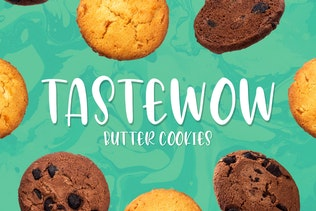 Thumbnail for Avocado Creamy - Cute & Sweety Font