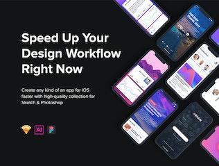 Thumbnail for Origin Mobile UI Kit