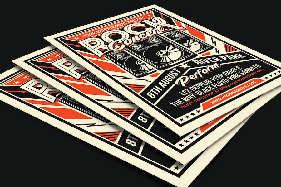 Retro Rock Concert - product preview 3