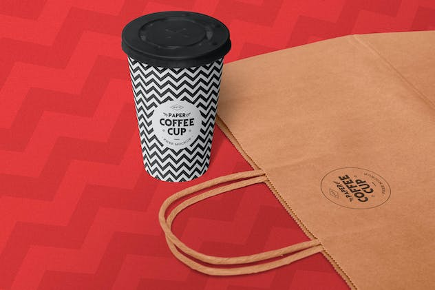 Paper Cup Mockups - product preview 0