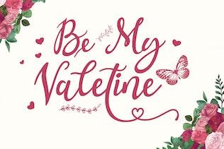 Valentina - Caligrafía Tipo de letra