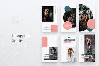 LUMINE Fashion Instagram Stories