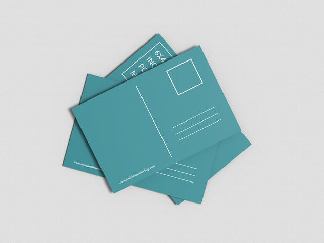 Postcard Mockup - product preview 7