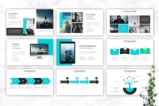 Thumbnail for MOOB - Creative Keynote Template