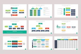 Thumbnail for Organizational & Data Chart Presentation